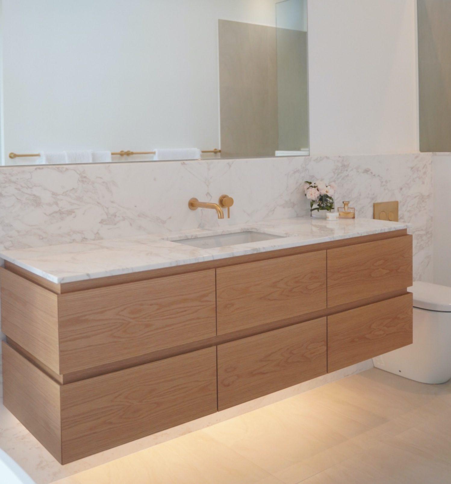 Sleek design bathroom vanity, Ballina, NSW