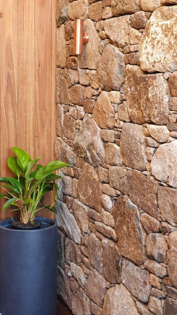 Stone Mosaic Wall Shelley Beach